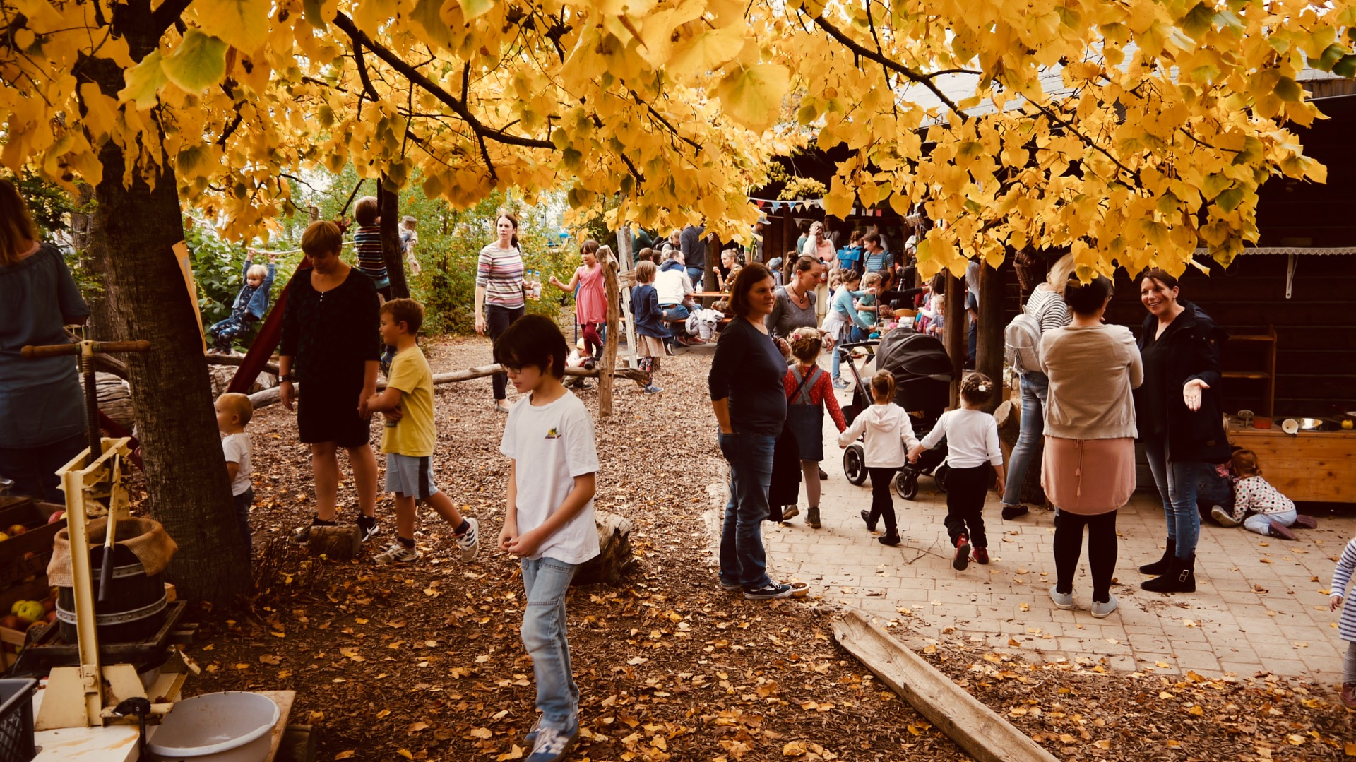 Neue Bilder vom Herbstfest in der internen Bildergalerie verfügbar
